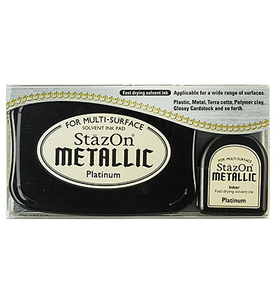 StaZon Ink - Metallic Platinum
