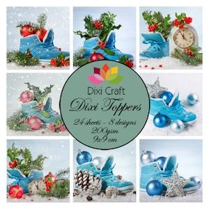 Dixi Craft - Toppers - Christmas Shoes