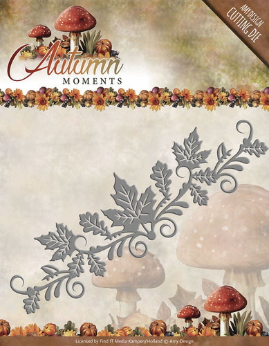 Amy Design - Die - Autumn Moments - Leaves Border