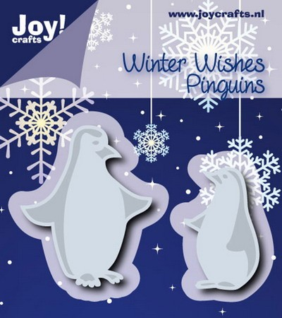 Joy!Crafts - Cutting & Embossing - stencil pinguins (2)