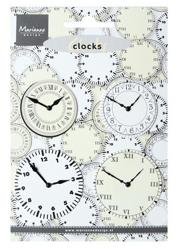 Marianne Design - Decoration clocks