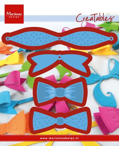 Marianne Design - Die - Creatables - stencil mix & match bows