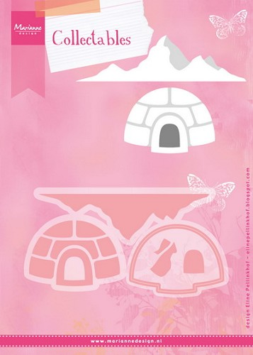 Marianne Design - Die - Collectables - set Eline`s igloo and mountain