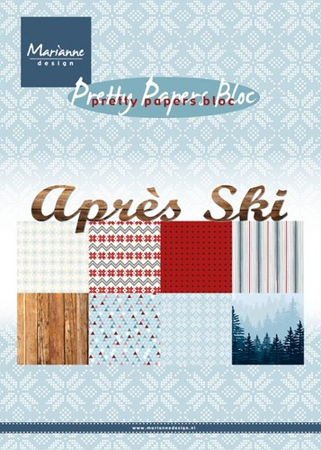 Marianne Design - Pretty Papers Bloc -apres ski
