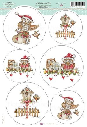 The Hobby House - Daisy Mae Draws toppers - Stansvel - A Christmas Tale