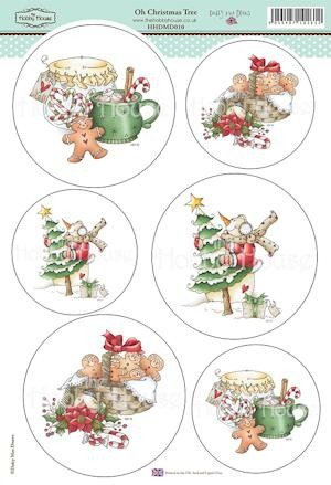 The Hobby House - Daisy Mae Draws toppers - Stansvel - Oh Christmas Tree