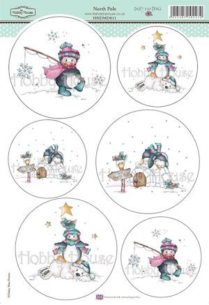 The Hobby House - Daisy Mae Draws toppers - Stansvel - North Pole