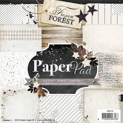 StudioLight - Frozen Forest - PAPER PAD - FROZEN FOREST 37