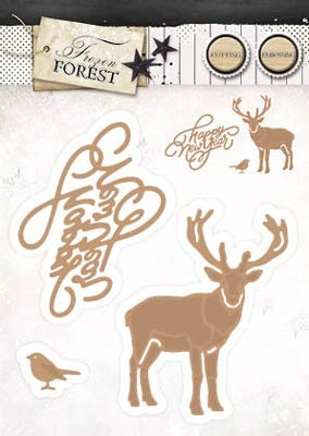 StudioLight - Frozen Forest - EMBOSSING DIE- FROZEN FOREST 13