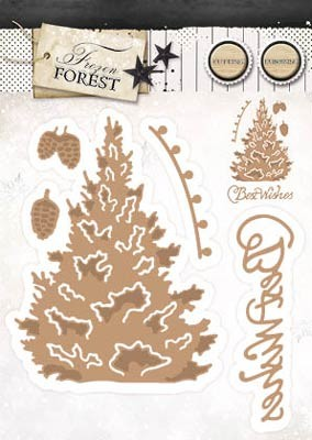 StudioLight - Frozen Forest - EMBOSSING DIE- FROZEN FOREST 14