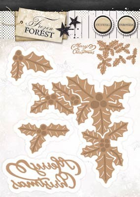 StudioLight - Frozen Forest - EMBOSSING DIE- FROZEN FOREST 15