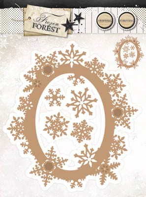 StudioLight - Frozen Forest - EMBOSSING DIE- FROZEN FOREST 17