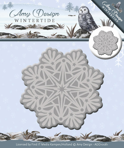 Amy Design - Die - Wintertide - Ice Crystal