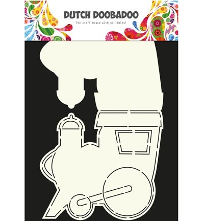 Dutch Doobadoo - Dutch Card Art - Train