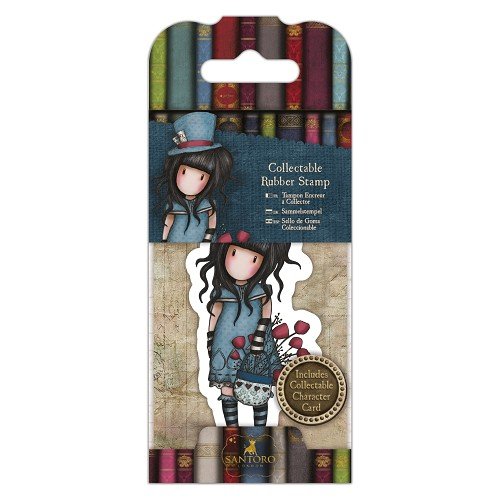 DoCrafts - Mini Rubber Stamp Gorjuss - Santoro - No. 29 The Hatter