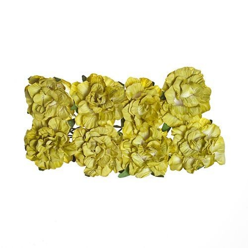 ScrapBerry`s - Paper Flowers - Clove - Green