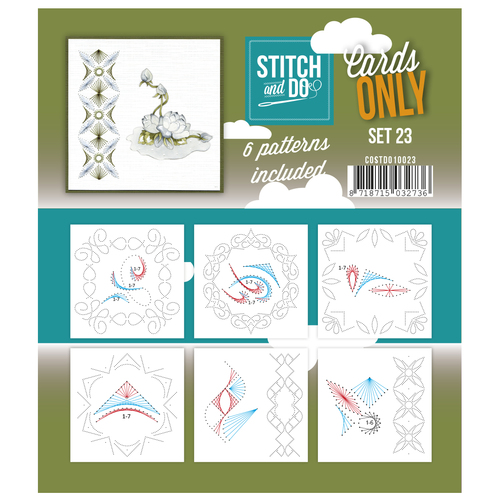 Card Deco - Stitch & Do - Cards only - Set 23