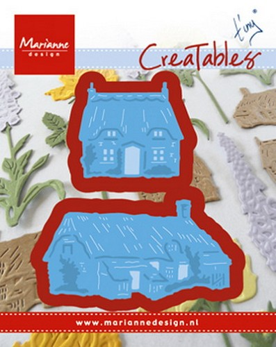 Marianne Design - Die - Creatables - stencil Tiny`s cottages
