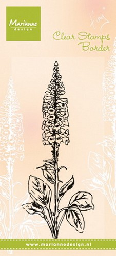 Marianne Design - Clearstamp - Tiny`s foxglove