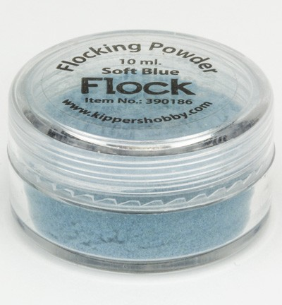 KippersHobby - Flock Powder -  Soft Blue