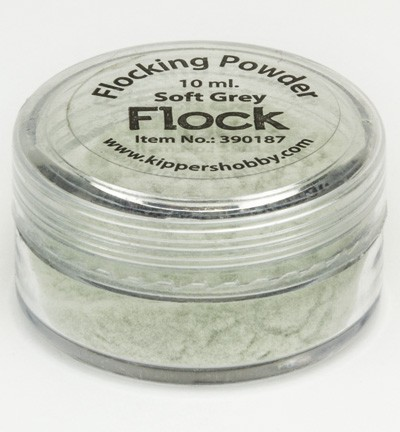 KippersHobby - Flock Powder -  Soft Grey