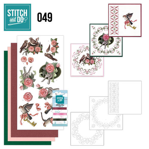 Card Deco - Stitch and Do - Borduurset 49 -  Verhuizen