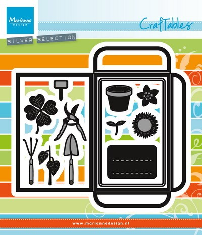 Marianne Design - Die - Craftables - seed pocket & garden tools