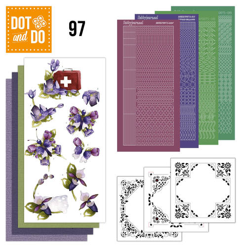Dot and Do 97 - Purple Flowers