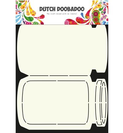 Dutch Doobadoo - Dutch Card Art - Card Art Cookie Jar