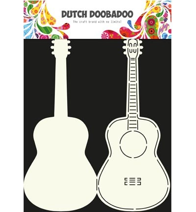 Dutch Doobadoo - Dutch Card Art - Card Art Guitar