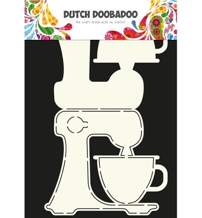 Dutch Doobadoo - Dutch Card Art - Card Art Kitchen Aid