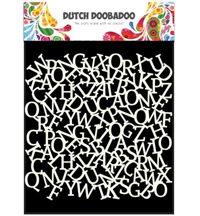 Dutch Doobadoo - Dutch Mask Art - Alfabet