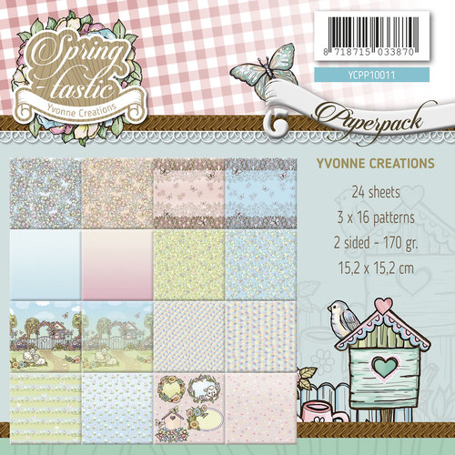 Yvonne Creations - Paperpack - Spring-tastic