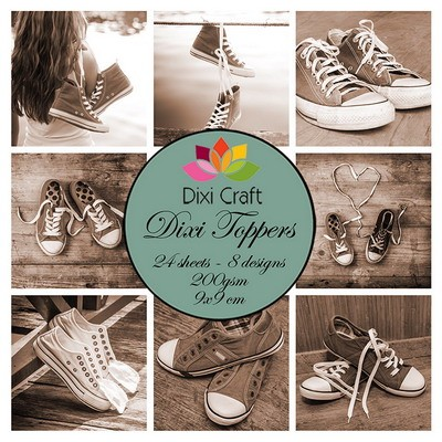 Dixi Craft - Toppers  -  Sneakers sepia