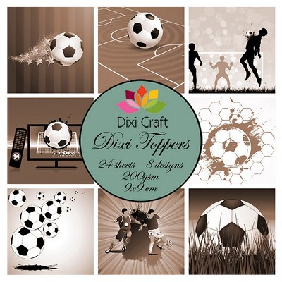Dixi Craft - Toppers  -  Sports sepia