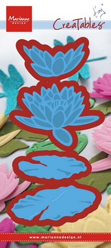 Marianne Design - Die - Creatables - Tiny`s waterlily (l)