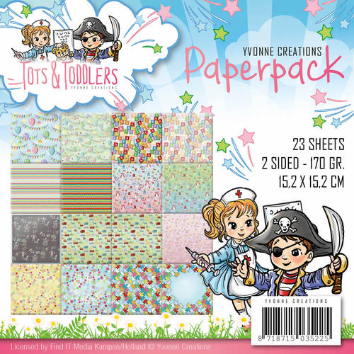 Yvonne Creations - Paperpack - Tots and Toddlers