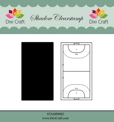 Dixi Craft - Shadow Clearstamp - Handball