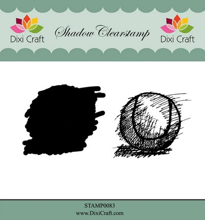 Dixi Craft - Shadow Clearstamp - Tennis