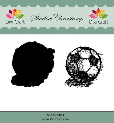 Dixi Craft - Shadow Clearstamp - Football
