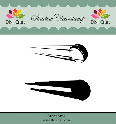 Dixi Craft - Shadow Clearstamp - Icehockey