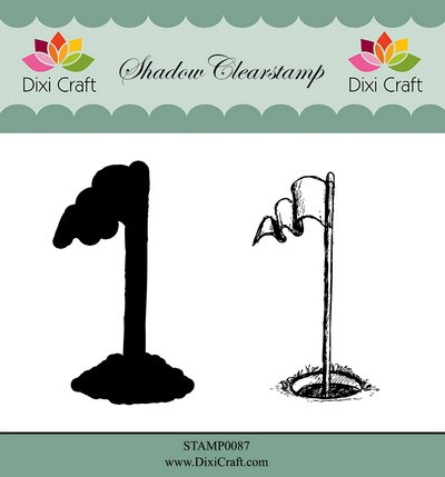 Dixi Craft - Shadow Clearstamp - Golf