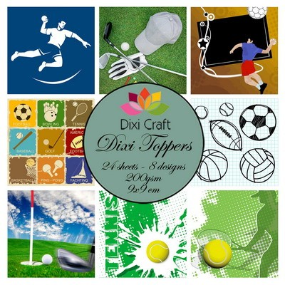 Dixi Craft - Toppers - Sports 2