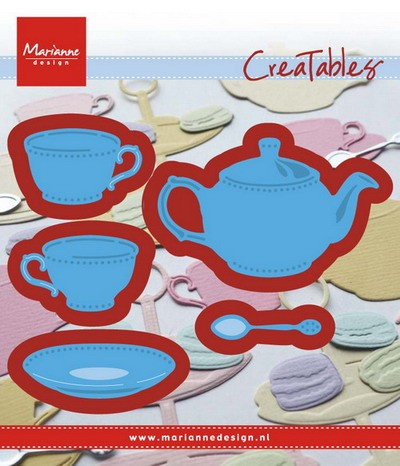 Marianne Design - Die - Creatables - stencil tea for you