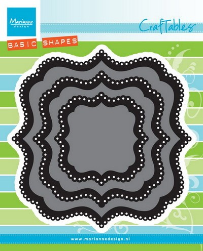 Marianne Design - Die - Craftables - classic square