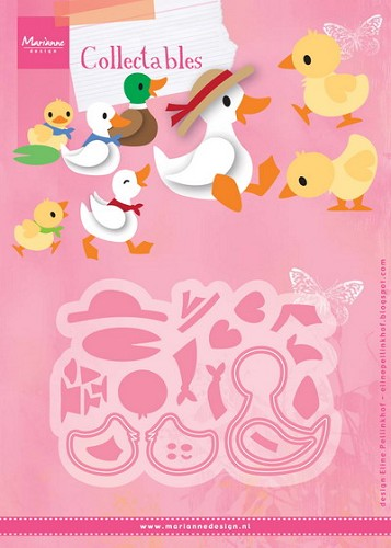 Marianne Design - Die - Collectables - Eline`s Duck family