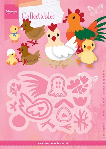 Marianne Design - Die - Collectables - Eline`s chicken family