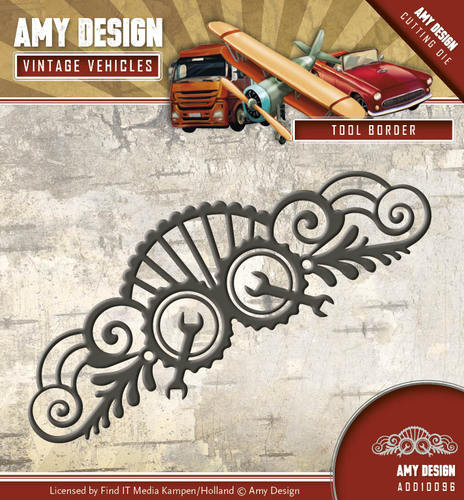 Amy Design - Die - Vintage Vehicles - Tool Border