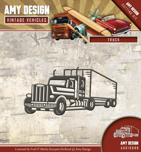 Amy Design - Die - Vintage Vehicles - Truck