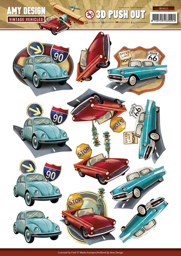 Amy Design - Pushout - Vintage Vehicles